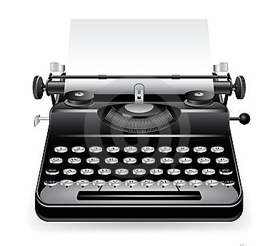 incon typewriter