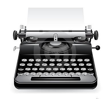 incon typewriter